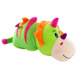 Product shot Reversimals 2-In-1 Plush Soft Toy - Dinosaur And Crocodile