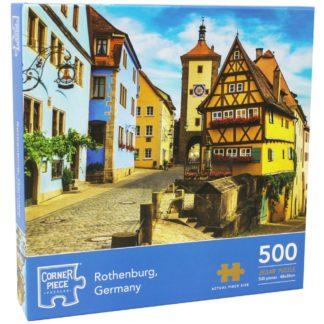 Product shot Rothenburg Germany 500 Piece Jigsaw Puzzle