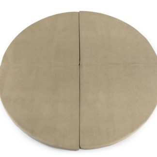 Product shot Round 130cm Beige Foam Play Mat