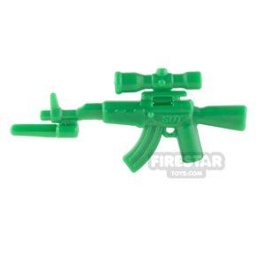 Product shot SI-DAN - AK47s - Green