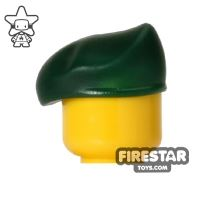 Product shot SI-DAN - BQ7 Beret - Dark Green