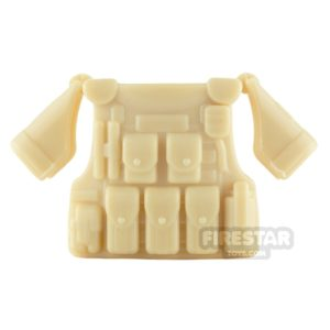 Product shot SI-DAN - BR1 Tactical Vest - Tan