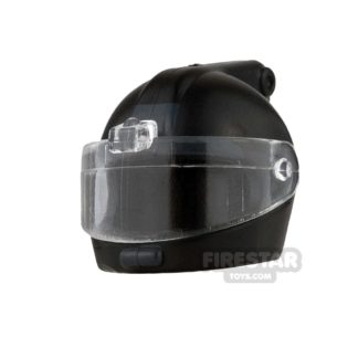 Product shot SI-DAN - E.O.D Helmet - Back Printing - Black
