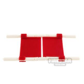 Product shot SI-DAN - Field Stretcher - Red