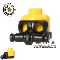 Product shot SI-DAN - Gas Mask CA2 - Black