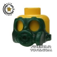 Product shot SI-DAN - Gas Mask S10sr - Dark Green