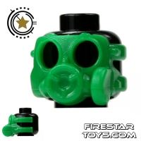Product shot SI-DAN - Gas Mask S10sr - Green