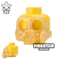 Product shot SI-DAN - Gas Mask S10sr - Pearl Gold
