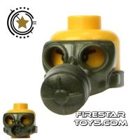 Product shot SI-DAN - Gas Mask Type 1 - Iron Green