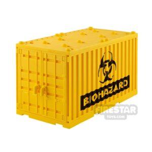 Product shot SI-DAN Shipping Container Biohazard