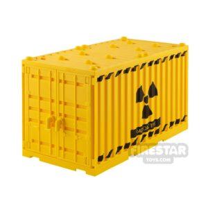 Product shot SI-DAN Shipping Container Radioactive