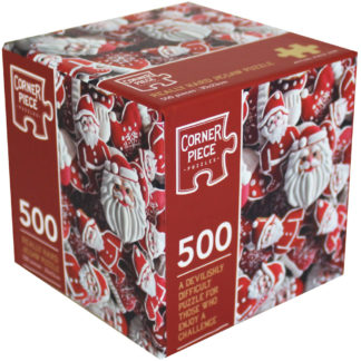 Product shot Santa Biscuits 500 Piece Really Hard Jigsaw Puzzle