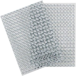 Product shot Silver Gem Stickers - 2 Sheets