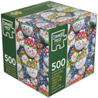 Product shot Snowman Biscuits 500 Piece Really Hard Jigsaw Puzzle