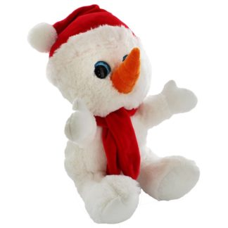 Product shot Snuggly Snowman Plush Soft Toy