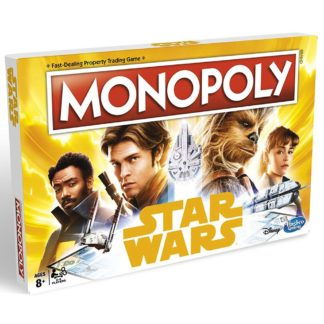 Product shot Star Wars Han Solo Monopoly Board Game