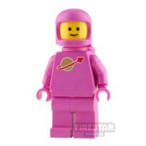 Product shot The LEGO Movie 2 Mini Figure - Classic Space - Pink