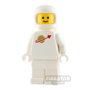 Product shot The LEGO Movie 2 Mini Figure - Classic Space - White