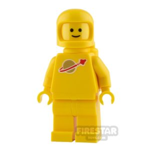 Product shot The LEGO Movie 2 Mini Figure - Classic Space - Yellow