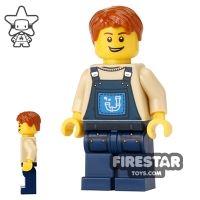 Product shot The LEGO Movie Mini Figure - Alfie the Apprentice