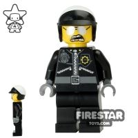 Product shot The LEGO Movie Mini Figure - Bad Cop - Open Mouth