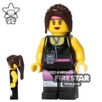 Product shot The LEGO Movie Mini Figure - Cardio Carrie