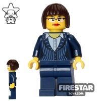 Product shot The LEGO Movie Mini Figure - Executive Ellen