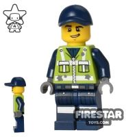 Product shot The LEGO Movie Mini Figure - Garbage Man Dan