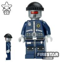 Product shot The LEGO Movie Mini Figure - Robo SWAT - Cap and Neck Bracket