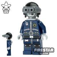 Product shot The LEGO Movie Mini Figure - Robo SWAT - Goggles and Neck Bracket