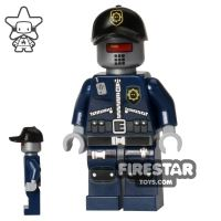 Product shot The LEGO Movie Mini Figure - Robo SWAT with Cap