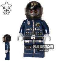 Product shot The LEGO Movie Mini Figure - Robo SWAT with Helmet