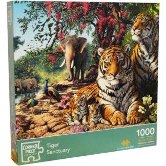Product shot Tiger Sanctuary 1000 Piece Jigsaw Puzzle