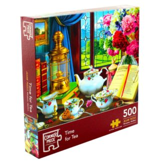 Product shot Time For Tea 500 Piece Jigsaw Puzzle