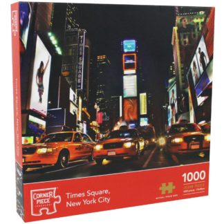 Product shot Times Square New York 1000 Piece Jigsaw Puzzle