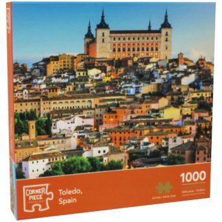 Product shot Toledo Spain 1000 Piece Jigsaw Puzzle