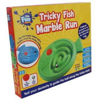 Product shot Tricky Fish Marble Run Game
