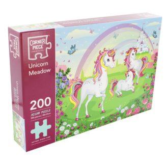 Product shot Unicorn Meadow 200 Piece Jigsaw Puzzle