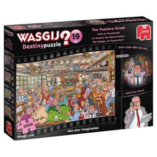 Product shot Wasgij Destiny 19 The Puzzlers Arms 1000 Piece Puzzle