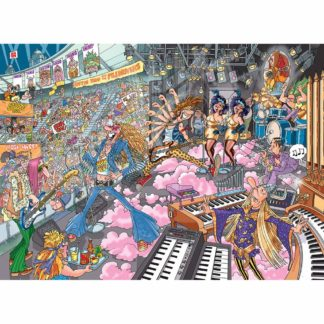 Product shot Wasgij Destiny Old Time Rockers Jigsaw Puzzle - 1000 Pieces