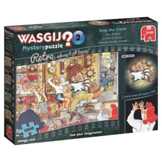Product shot Wasgij Mystery 2 Stop The Clock 1000 Piece Puzzle