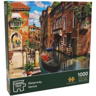 Product shot Waterway Venice 1000 Piece Jigsaw Puzzle