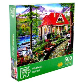 Product shot Weekend Retreat 500 Piece Jigsaw Puzzle