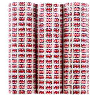 Product shot 3 Union Jack Paper Streamers - 4M