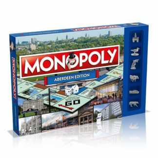 Product shot Aberdeen Monopoly Board Game