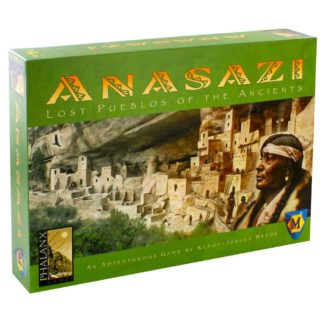 Product shot Anasazi Lost Pueblos Of The Ancients Board Game