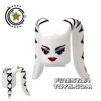 Product shot Arealight Mini Figure Heads - White