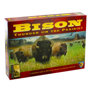 Product shot Bison Thunder On The Prairie Board Game