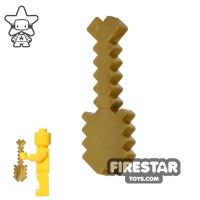 Product shot BrickTactical - Minecraft Shovel - Metallic Gold