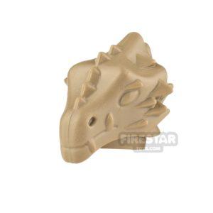Product shot BrickWarriors Dragonman Head